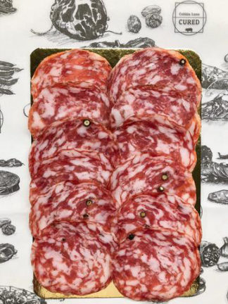 Salt & Pepper sliced Salami